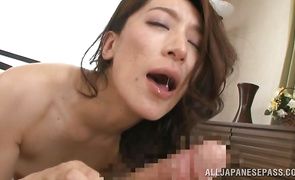 Stupendous mom Marina Matsumoto got down and messy with playmate she can't live without a lot
