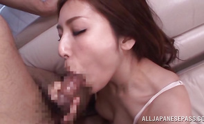 Glorious mature darling Yuna Shiina gets banged on the balcony with awesome view