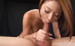 You have never seen a tighter pussy than voluptous older Rino Mizusawa's one