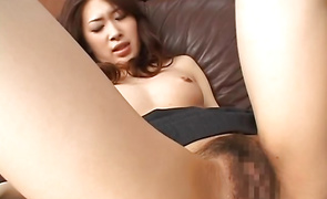 Prurient mature Yuria Sendo is fucking bf who just moved into her neighbourhood to get to know him more excellent