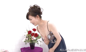 Seductive aged Eriko Miura is ready to be fucked and too facialized