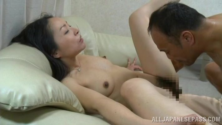 Remarkable mature floozy gobbles up a fat dick