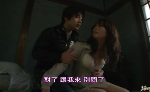 Amazing bosomed bimbo Mizuki Tachibana can't get enough of large and hard cock