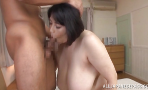 Attractive mature playgirl Misuzu Tomizawa avid to be boner annihilated
