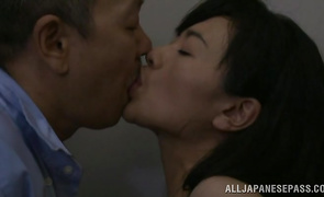 Astounding mature girlie with wet cunt receives a meat