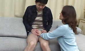 Fresh mature Mina Toujou gets her perfect butt licked and pussy banged