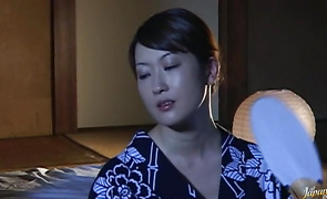 Pretty bimbo Reiko Yamaguchi is always in the mood for sex