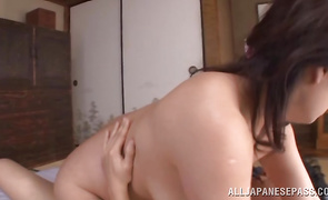 Wonderful mature Neko Ayami has her biggest wazoo eaten