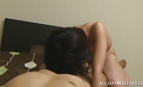 Mesmerizing babe is primed for a fuck from her experienced dude