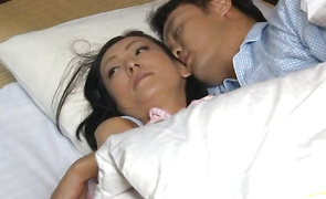 Dissolute Ayumi Takanashi is enjoying like never previous to while playmate is drilling her poon tang in many positions