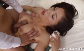 1st time filmed when sucking hard and fucking like a fresh mature playgirl Yukino Shindou with curvy tits