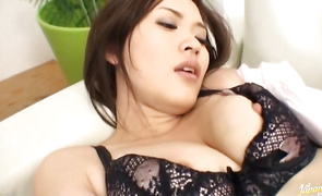 Swingeing mature maid has fun with lover