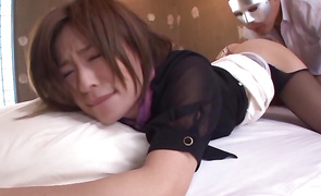 Topnotch older girlie Kaho Kasumi screwed the way she wanted