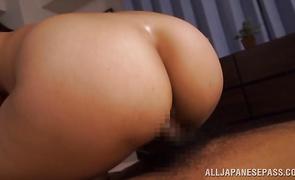 Breathtaking busty mature Kaori is the superlatively good cock sucker in the world