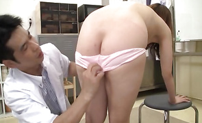 Sensual housewife has her ass fingered after a classy dinner
