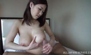 Voracious busty mature sweetheart receives a pulsating cock in her wet pussy