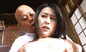 Lovely mature gal Kasumi Yamaguchi is amazing and receives a very large schlong