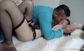 Vigorous diva is fucking her male and enjoying more than she ever did