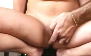 Mesmerizing housewife is fucking a fuckmate she likes a lot