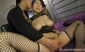 Enticing bosomed Sena Minami with tight vagina just needs a worthwhile fuck until she cums