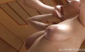 Topnotch floosy Mio Sakuragi gets her flawless pussy plowed with excitement