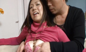 Sugary Mai Aida with impressive tits gets pounded by her athletic fucker