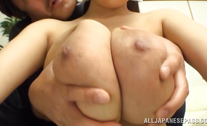 Racy aged Hitomi and she adores the way she's drilled unfathomable