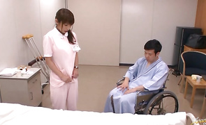 Maid Mika Kayama with large tits is staggering whore you will ever see
