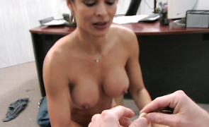 Admirable latin older Monique Fuentes gets spooned by a boyfriend
