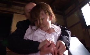 Magical Reiko Sawamura with firm tits has a fuck like she never had previous to