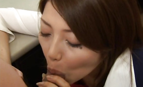 Outstanding floosy Yuna Takizawa wants the smack of fucker