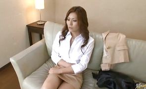 Slutty big titted cougar Yuna Shiina enjoys being thoroughly banged from behind