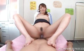 Minx Ayu Sakurai is a lovely that loves oral-sex