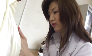 Delightful bosomed perfection Mai Hanano has a fuck session with her bf