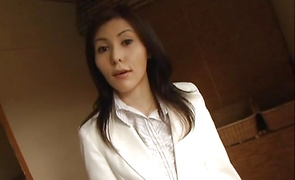 Luxurious girlfriend Aya Tanaka got fucked in a doggystyle position until she came