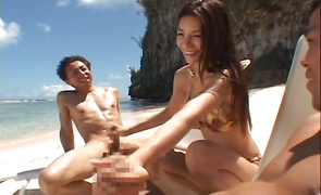 Lustful breasty mature Anri Suzuki enjoys riding brutal boyfriend