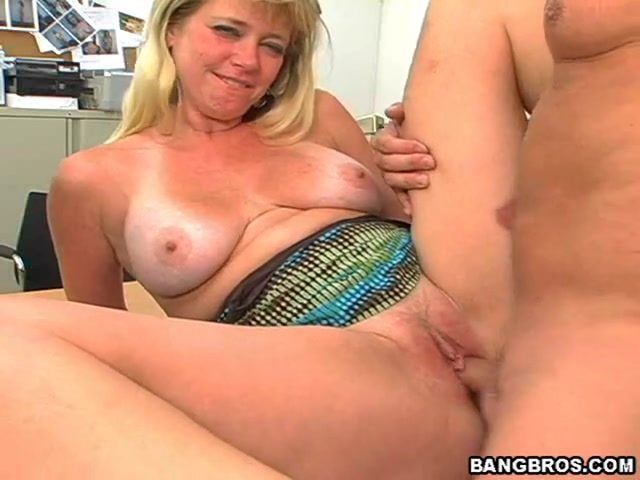 Delightful blond Casey Bryant loves stud's large juicy ramrod