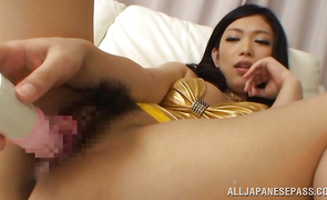 Alluring big breasted mature Hikari Hino to take his needy dick