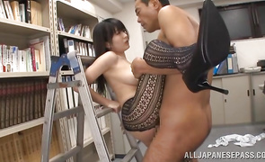 Spicy Arisa Misato has her gazoo plowed by a horny stranger