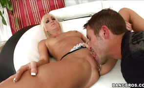 Fleshly mature gal Rachel Luv got fucked hard in a doggystyle position