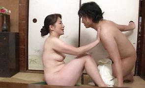 Remarkable hottie Kaoru Namiki is fucking her mate to return him a favour for hiring her
