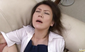 Inviting perfection Seiko Shiratori was concerned to begin fucking this lover