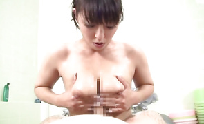 Beautiful busty mature woman sucks and likes schlong like a handsome's toy