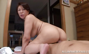 Excellent woman Wako Anto receives a ardent pussy pounding