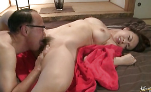 Wanton Reiko Nakamori with firm tits is about to experience an intensive agonorgasmos