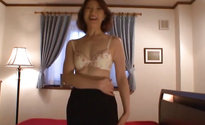 Alluring housewife got her daily dose of fuck as a surprise