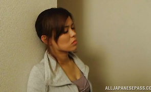 Hot-tempered Haruki Aoyama with handsome tits can't live without sex so much