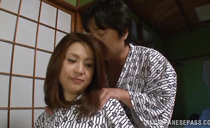 Brutal lad is having an awesome time pounding delicious Yurie Matsushima