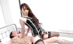 Aphrodisiac maid needs bf's big hard cock inside her