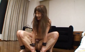 Slutty bosomed mature girlfriend Rina Yada are getting real wild with their sexual antics